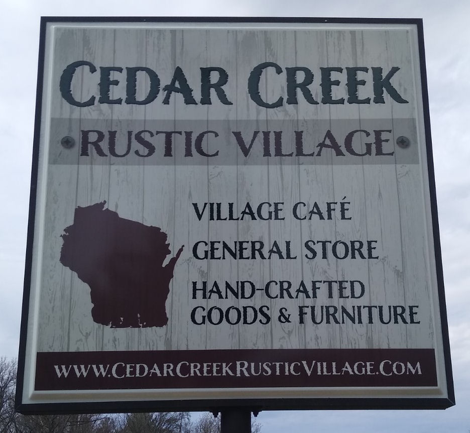 Cedar rustic furniture