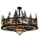 Pine Tree Chandelier with fan