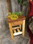 Log Nightstand / Cottage Collection