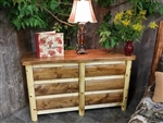 6 Drawer Log Dresser / Cottage Collection