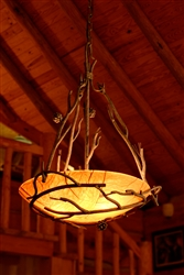Rustic Iron Chandelier