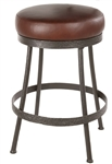 Iron rustic bar stool basic