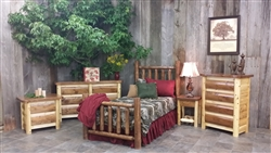 Cedar Bedroom Furniture Set / Cottage Collection