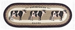 Farmhouse Cow Table Runner