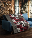 Lodge Life Quilt Throw