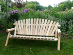 long garden bench made in America
