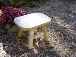 Outdoor cedar table made in America