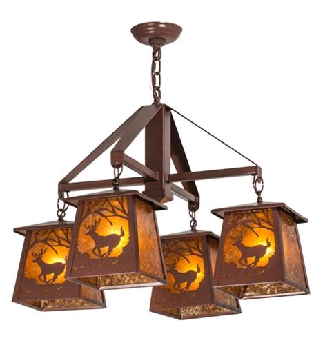 Large iron chandelier wrought iron light fixture deer at dawn chandelier aloadofball Choice Image
