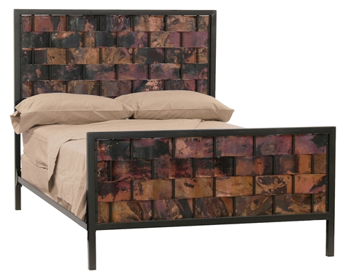 Rustic Metal Bed Copper Bed Frame Rustic Iron Bed