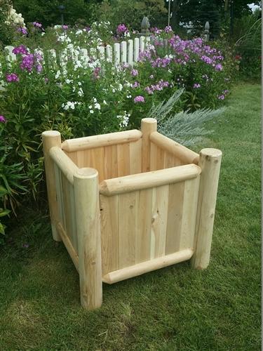 Perfect Size Log Planter Box ...